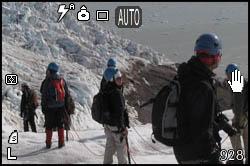 In cordata sul ghiacciaio