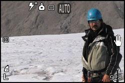 Pausa sul ghiacciaio