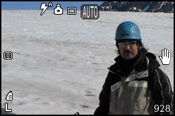 Daniele sul ghiacciaio