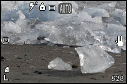 Ghiacci sulla spiaggia