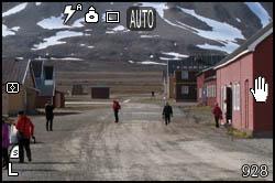 Main street in Ny-Ålesund