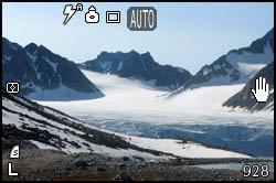 Laghetto e ghiacciaio