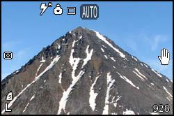Montagna e nevaio