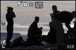 Pausa durante la prima escursione