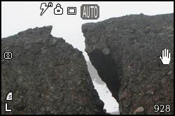 Roccia spaccata