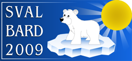 Logo Svalbard 2009